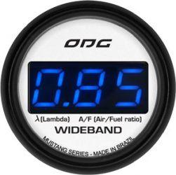 Manômetro Wideband 52 mm Mustang
