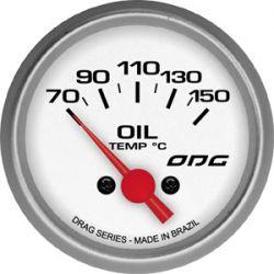 Manômetro Oil Temp 52 mm Drag