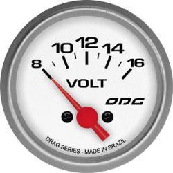 Manômetro Volt 52 mm Drag