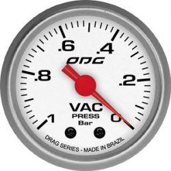 Manômetro Vac 52 mm Drag