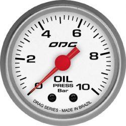 Manometro Oil 10 Bar 52 mm Drag