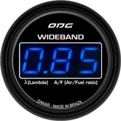 Manômetro Wideband 52 mm Dakar