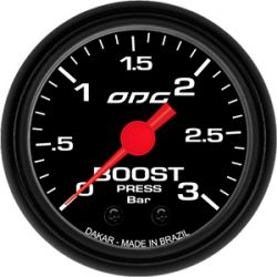 Manometro Boost 3 Bar 52 mm Dakar