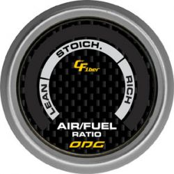 Manômetro Hallmeter 52 mm Carbon