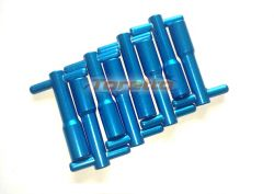 Wing Nuts AP em Alumínio Azul