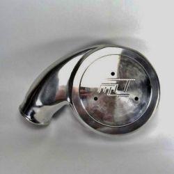 Mufla Alto Volume Para Carburador 2E/3E Polida - BY MACKTECH