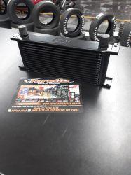 """Radiador de óleo universal SPA 10AN """"macho"""" - 285mmx111mmx50mm"""