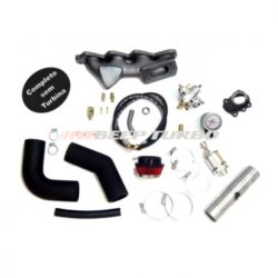 Kit turbo VW - EA111 - 1.6 - Transversal Gol / Saveiro /Voyage (Novo) G5 S/TURBINA