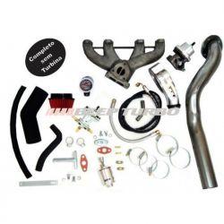 Kit Turbo VW - AP Pulsativo p/ cima - Carburado - 1.8/1.9/2.0 S/TURBINA