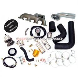 Kit turbo GM - S10- Blazer 2.0 / 2.2 ( Injeção EFI ) S/Turbina