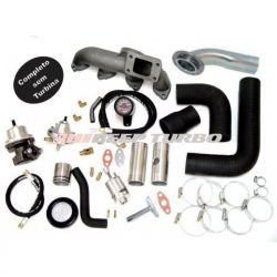 Kit turbo GM - Omega 2.2 / S10 2.4 (Injeção MPFI) S/Turbina