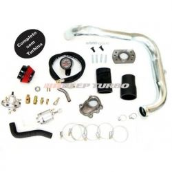 Kit turbo GM - Corsa / Celta 1.0/1.6 - MPFI S/Turbina