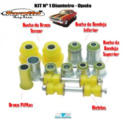 Kit de Buchas Dianteiro Opala 80 a 92 - NVS