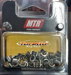 Jogo De Trava Haste 6mm 3 Ranhuras - MTR