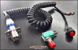 Botão RS - COM CHICOTE ESPIRAL E CONECTORES