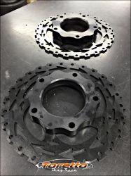 Kit de discos de freio linha volks - Cubo engate rápido