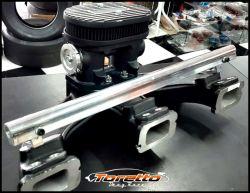 Coletor Santilli com Throttle Body GM 6Cil. de Pé com Filtro 6 Bicos