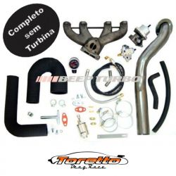 Kit Turbo VW - AP Pulsativo p/ cima - Injetado S/Turbina
