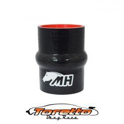 """Mangote em Silicone Reto com Hump 2-1/2"""" polegadas (63mm) x 100mm"""