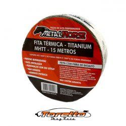 Fita Térmica  - Titanium 15 Metros Metal-Horse