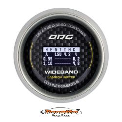 Manômetro Wideband 52 mm Carbon