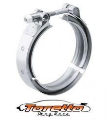 """Abraçadeiras Tipo V-Band / V-Clamp  em Alumínio 4"""" polegadas"""