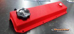 Tampa de Valvula VW AP Vermelho Texturizado - Poke Parts
