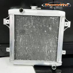 Radiador em Aluminio  para Chevette (BRASADO)
