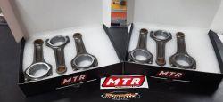 Bielas Forjadas para GM  OPALA  6CIL -  Pino 23mm Max Boost - (1800 Cvs)- MTR