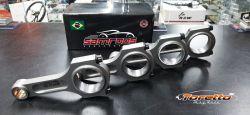 Bielas Forjadas para Chevette 1000CV - Parafuso 7/16 - Pino 20mm