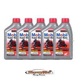 Oleo Lubrificante Mobil Super Moto 4T Mx