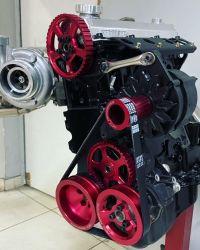 Kit de Polias em Aluminio para Motores VW AP  - RGTX POLY V